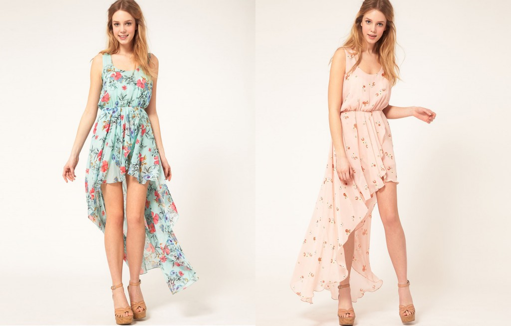 Latest Floral Dresses For Women 2013 - Inkcloth