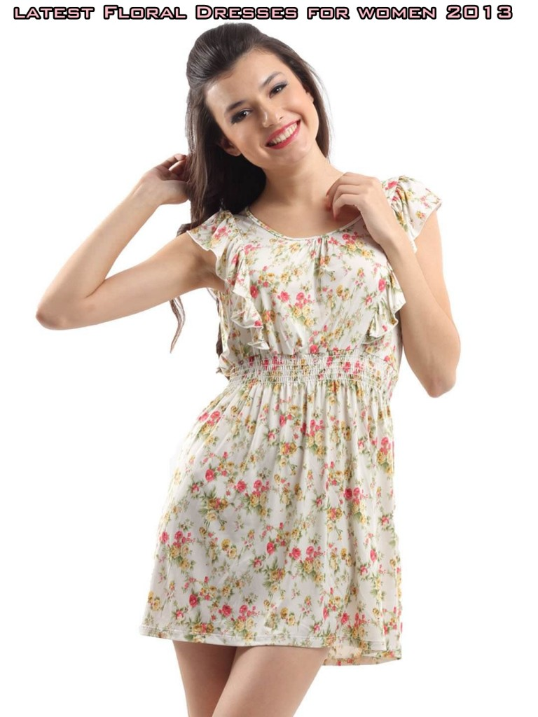 Latest Floral Dresses For Women 2013 Inkcloth