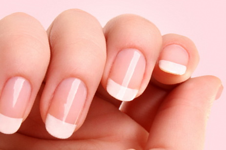 Do home french manicure