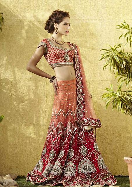 red-and-orange-bridal-bridal-lehnga-for-women