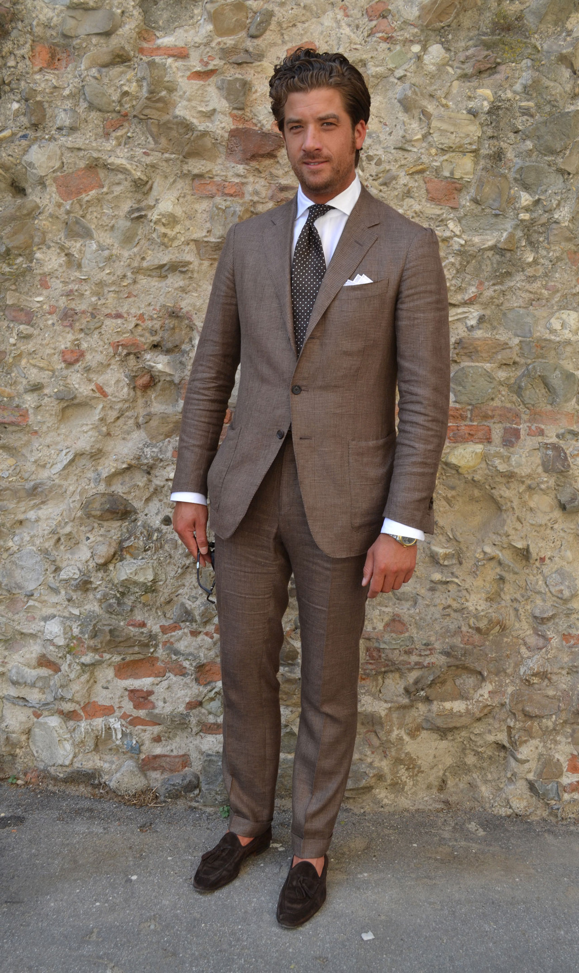 Brown Business Dress