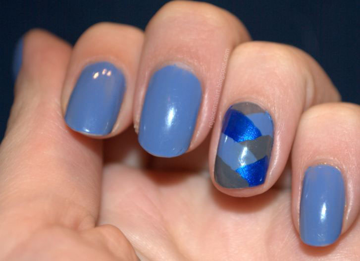 glaze-fistail-braid-blue-nail-art-ideas-for-girls