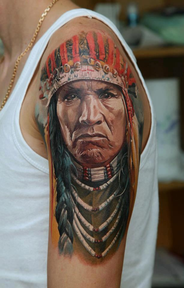 Native American Tattoos for Men