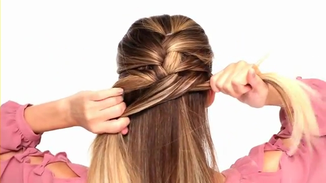 how do you french braid