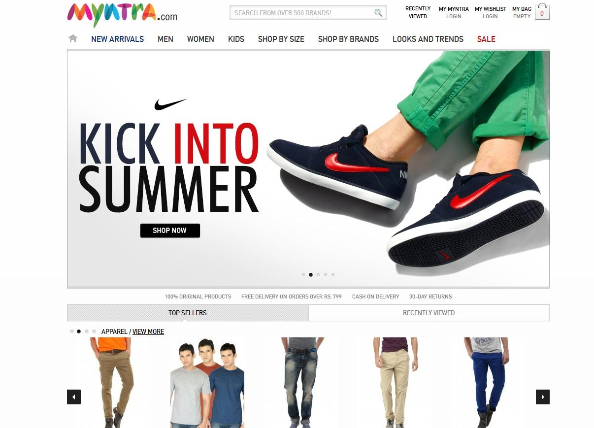 Top 10 online shopping websites in india 2013 for What is the best online store