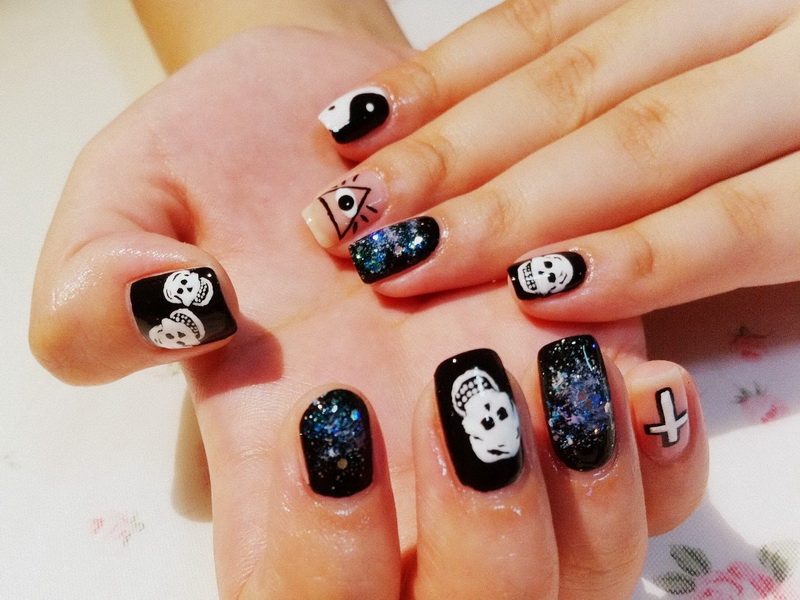 Cool nail ideas 4 inkcloth Cool nail design ideas at home