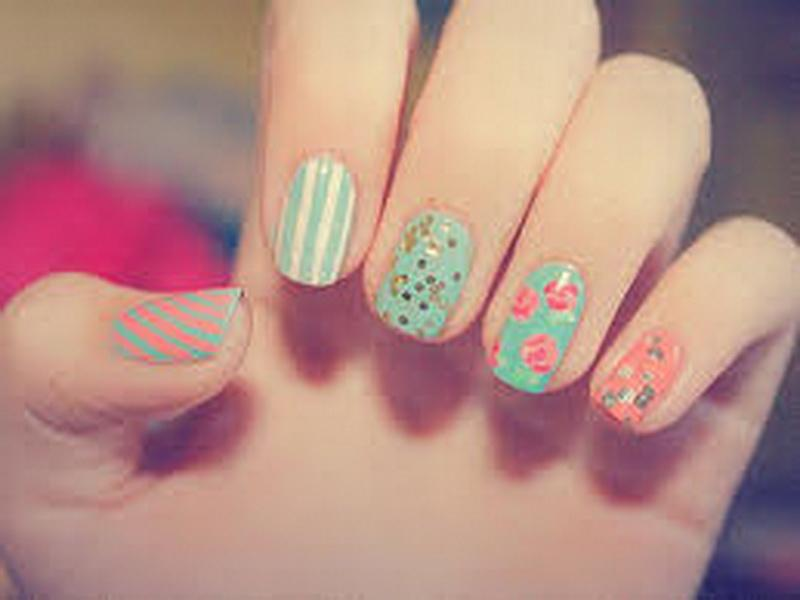 nail design ideas spring 2014 images