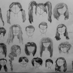 Anime Hairstyles 13