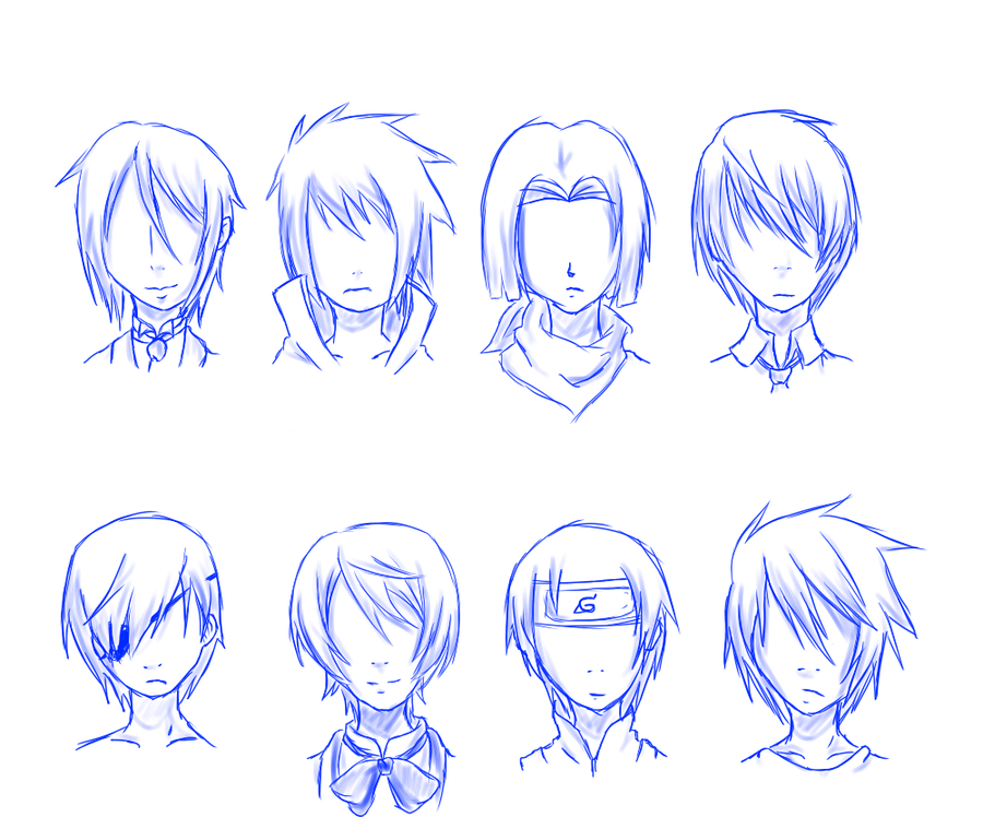 Anime Hairstyles 14
