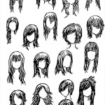 Anime Hairstyles 17