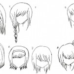 Anime Hairstyles 19