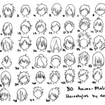 Anime Hairstyles 3