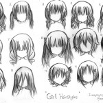 Anime Hairstyles 4