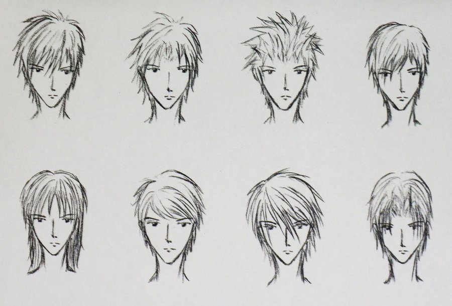 Anime Hairstyles 5