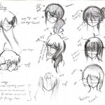 Anime Hairstyles 6