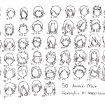 Anime Hairstyles 7