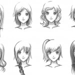 Anime Hairstyles 8