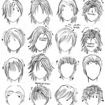 Anime Hairstyles 9
