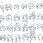 Anime Hairstyles 10