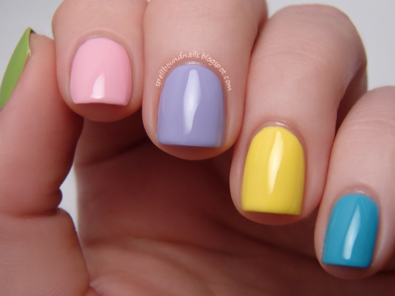 Easter colors for nails – Christmas ideas 2018