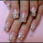 French Nail Manicure 2
