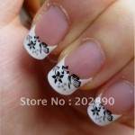 French Nail Manicure 16