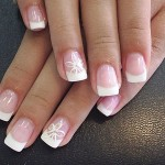 French Nail Manicure 4