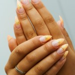 French Nail Manicure 9