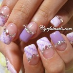French Nail Manicure 10