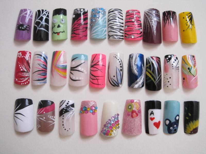Hand designs for nails 2 inkcloth prinsesfo Images