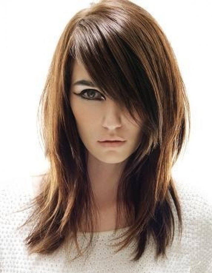 Terrific Layered Hairstyles For Long Hair 2 Inkcloth Hairstyles For Women Draintrainus