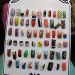 Hand Painted Nail Designs 12