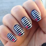 Hand Painted Nail Designs 14
