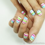 Hand Painted Nail Designs 17