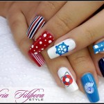 Hand Painted Nail Designs 18