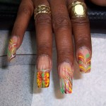 Hand Painted Nail Designs 19