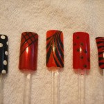 Hand Painted Nail Designs 20