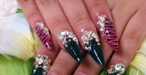 Hand Painted Nail Designs 21
