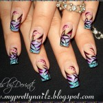 Hand Painted Nail Designs 6