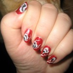 Hand Painted Nail Designs 9