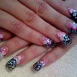 Hand Painted Nail Designs 10