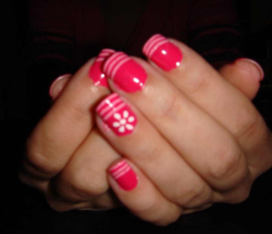 Simple But Pretty Nail Designs Images - Nail Art and Nail Design Ideas