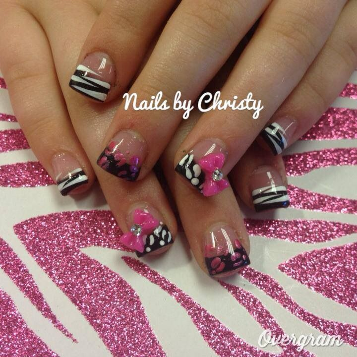 Acrylic nail tip ideas 4 inkcloth prinsesfo Image collections
