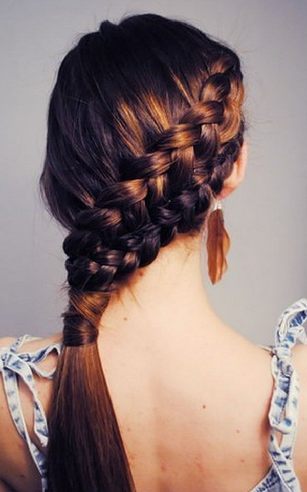 Easy Hairstyles For School Inkcloth