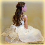 Flower Girl Hairstyles Style-1