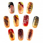 Freehand Nail Art Designs 14