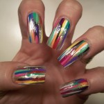 Freehand Nail Art Designs 5