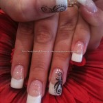 French Manicure Nail Art Designs 14