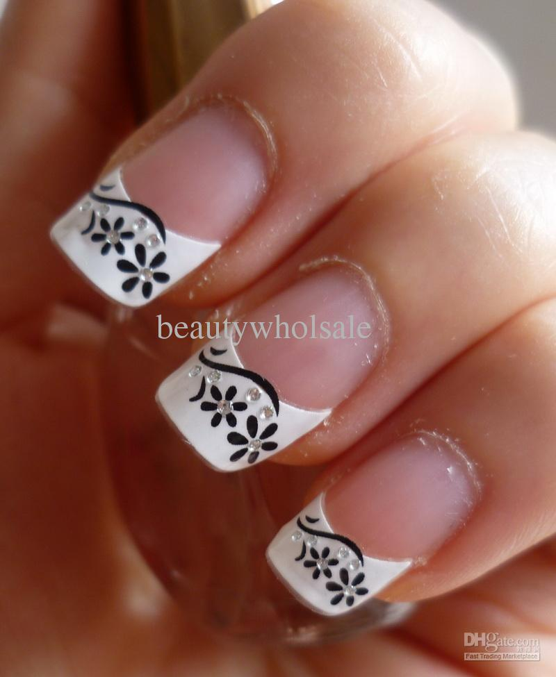 french manicure nail art designs 15 inkcloth. Black Bedroom Furniture Sets. Home Design Ideas