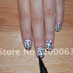 French Manicure Nail Art Designs 9